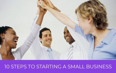 10 Steps to Starting a Small Business